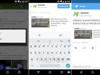 Twitter para Android ya permite agregar comentarios al citar los tweets