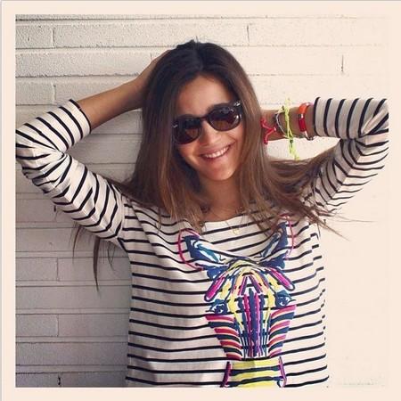 No se puede estar más enamorada que Malena Costa