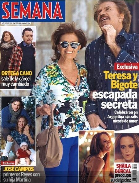 Teresa y Bigote, de escapada