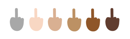 "Exprésate como te mereces, porque en Windows 10 tendremos el emoticón ""middle-finger"""