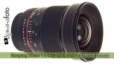 Samyang 24mm 1:1.4 ED AS IF UMC, vale lo que cuesta