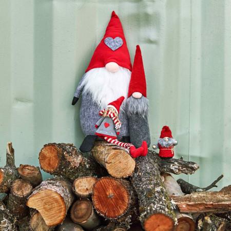 Gnomos decoración Navidad