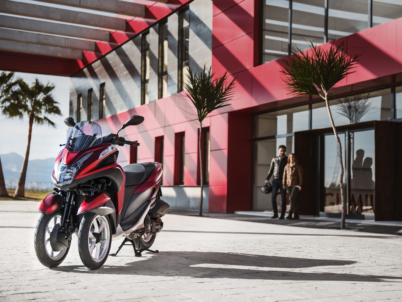 Foto de Yamaha Tricity 125 cc acción (13/21)