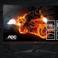 Este monitor gaming curvo de 32 pulgadas QHD te cuesta casi 70 euros menos en Amazon: AOC CQ32G1 por 300 euros [Agotado]