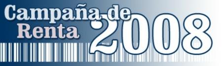 Renta 2008: Novedades en el programa PADRE