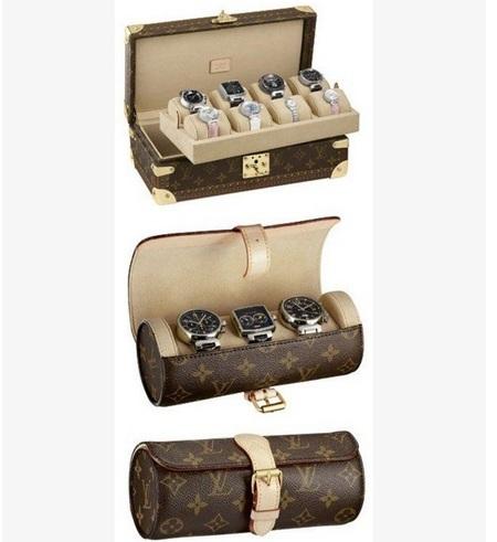 Los porta-relojes de viaje de Louis Vuitton