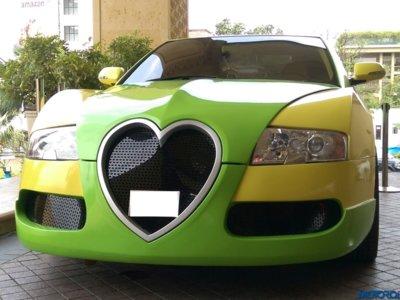 Los ricos quieren un Bugatti Veyron, pero si eres un enviado celestial necesitas algo más
