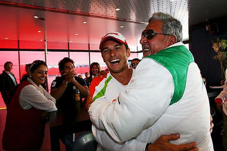 Force India: hoy los más felices del mundo
