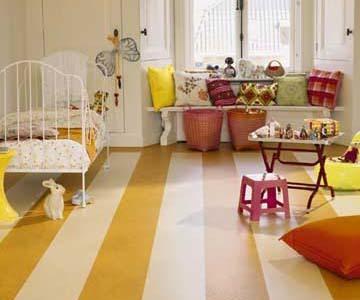 Un suelo ideal para la habitación de los niños
