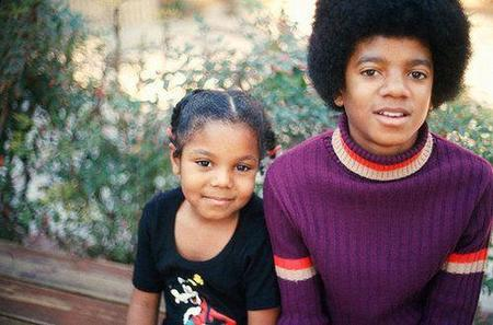Janet y Michael Jackson