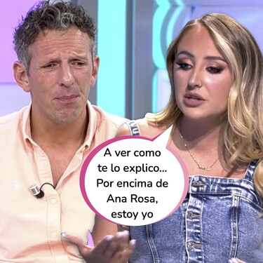 """Joaquín Prat le planta cara a Rocío Flores en 'El Programa de Ana Rosa': """"Esas declaraciones son profundamente irresponsables, algo tendrá que decir vuestra madre"""""""
