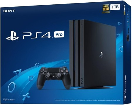 Sony Playstation 4 Pro 1tb Chasis B Negra 5223175 13120785