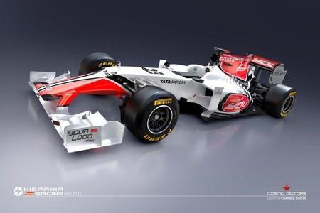 Hispania Racing F1 Team nos desvela las primeras imágenes del F111