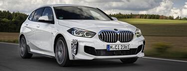 """El BMW 128ti se adelanta en estas fotos: 265 hp para el nuevo """"GTI"""" de BMW"""