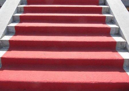 Fuera de la alfombra roja