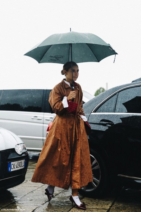 Mfw Milan Fashion Week Spring Summer 2016 Street Style Say Cheese Gucci Trench Coat 3 790x1185