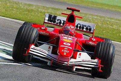 Michael Schumacher ha vuelto