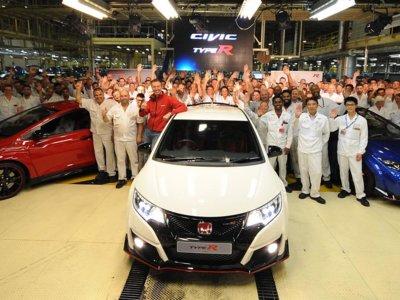El Honda Civic Type R ya se fabrica en Gran Bretaña