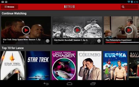 Netflix Android App