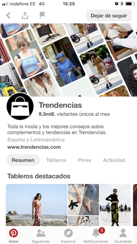 Pinterest Trendencias