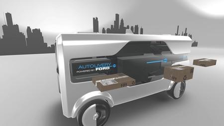 ¡Adiós, repartidores! El Ford Autolivery Concept quiere ser el buzón autónomo del futuro