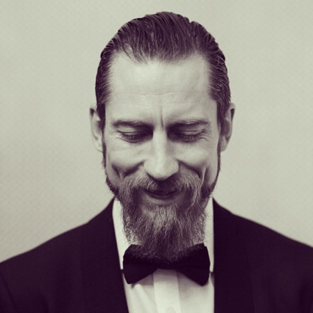 Justin O'Shea, el bearded man con más estilo