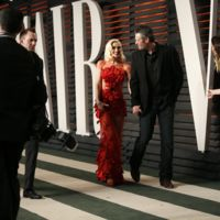 Gwen Stefani y Blake Shelton ya posan juntos en la alfombra roja