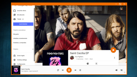 El reproductor open source Google Play Music Desktop Player llega también a Linux y Mac OS X