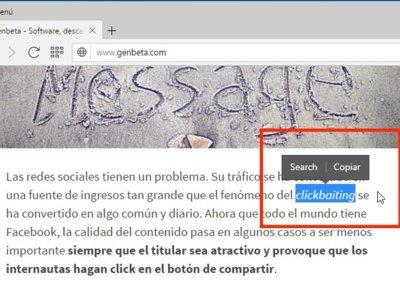 Search Popup, la nueva función de Opera para búsquedas rápidas en Internet