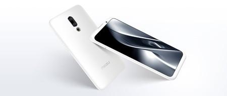 Meizu 16X: con sensor integrado en la pantalla y una versión especial de cerámica