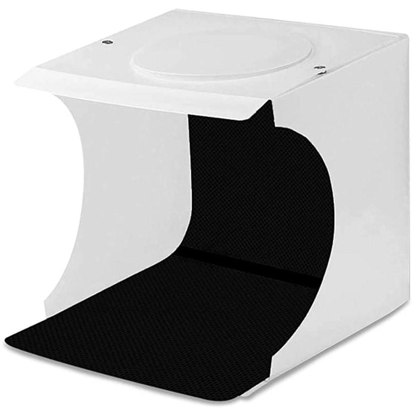 Redlemon Caja de Luz para Fotografía Semi Profesional Portátil, Kit para Estudio Fotográfico de Producto, Iluminación LED USB