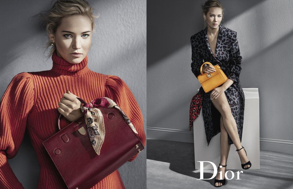 Foto de Dior campaña Otoño-Invierno 2016/2017 con Jennifer Lawrence (5/5)