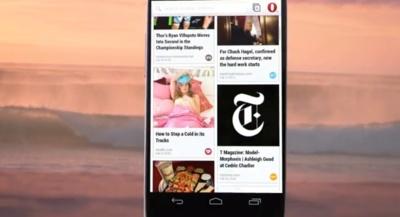 Opera lanza la beta de su nuevo navegador móvil basado en Webkit, de momento en Android