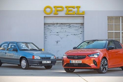 Opel Kadett Impuls I: el padre del Opel Corsa-e fue un coche compacto eléctrico que nació hace 30 años con 80 km de autonomía