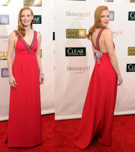 Una It girl de Oscar: ella es Jessica Chastain