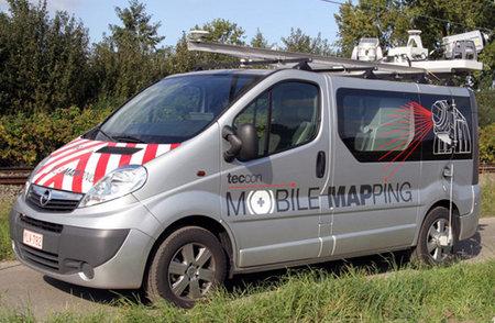 Mobile Mapping, o cómo trabajará la DGT en la cartografía de nuestras carreteras
