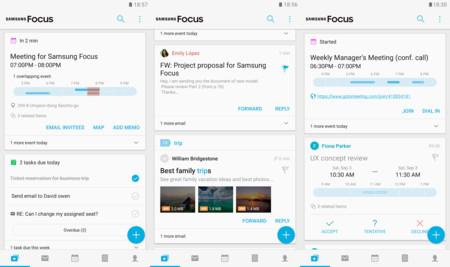 Samsung quiere que seas más productivo con su nueva app Samsung Focus