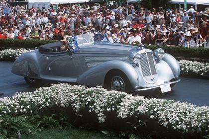 (2004)1938 Horch 853A Erdmann & Rossi Sport Cabriolet