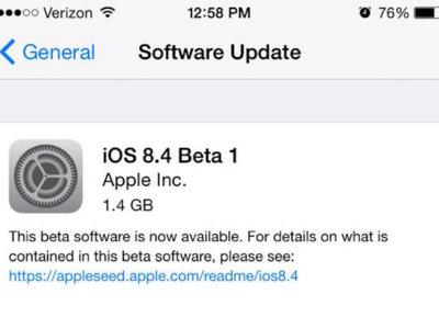 La primera beta pública de iOS 8.4 ya está aquí con todo y nueva app Música