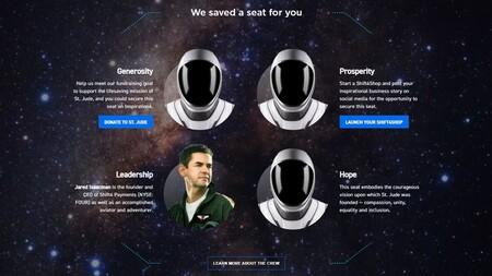 Tripulacion Inspiration4 Spacex
