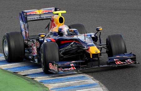 Vettel F1 Red Bull 2009