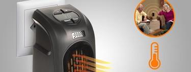 Las maxifacturas de electricidad tienen rival se llama PlugNHeat y es un radiador termo-cerámico portátil con diseño español