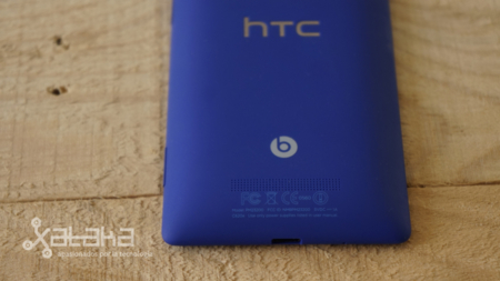 HTC 8X análisis detalle carcasa trasera