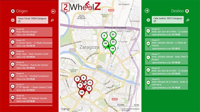2WheelZ bicicletas en Zaragoza