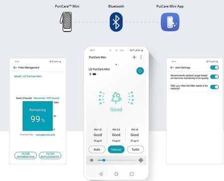 Rac Puricare Mini Black 10 Bluetooth App