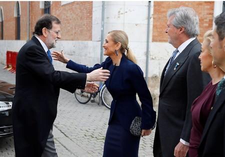 Bolso Dior Cristina Cifuentes Premio Cervantes