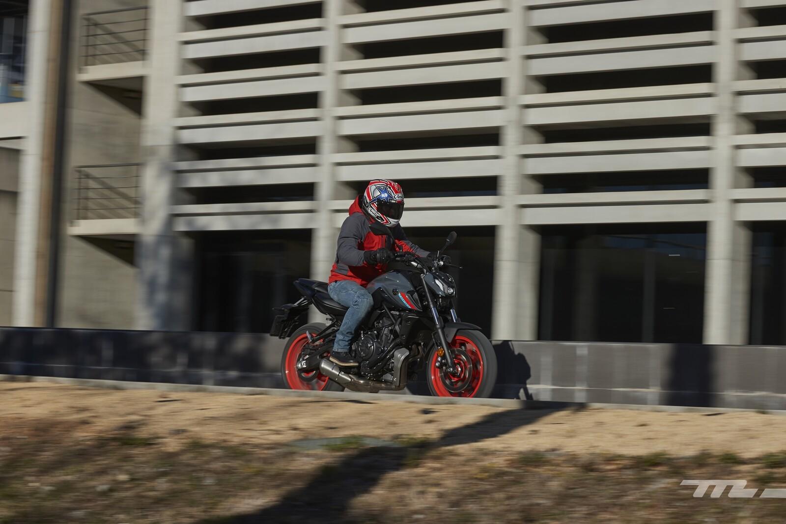 Foto de Yamaha MT-07 2021, prueba (58/75)
