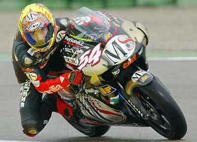 Manuel Poggiali vuelve al Mundial de 250 en 2008