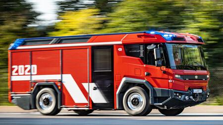 Rosenbauer RT, camión de bomberos eléctrico