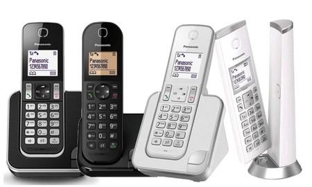 4 teléfonos DECT Panasonic a buenos precios en la Red Night de Mediamarkt